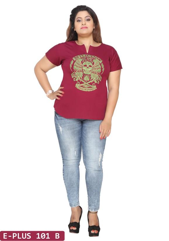 Trendy Plus Size Tunics Manufacturer Of Plus Size Tunics In India